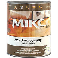 Лак Микс Колор для паркета шелковисто-матовый 0.8 кг