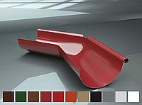 Поворот желоба 135° внешний Raiko 125/90 коричневый