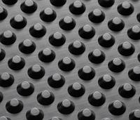 Шиповидная геомембрана Изолит Profi 0.5 (1.5х20м) для дренажа