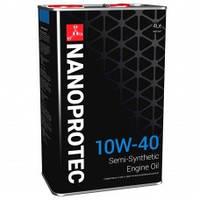 NANOPROTEC ENGINE Полусинтетическое моторное масло 10W-40 4л.
