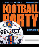 Тетрадь 24 линия 1 весерня  FOOTBALL PARTY