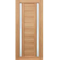 Дверь межкомнатная ПВХ ОМиС Cortex 02 ПО 600 мм дуб тобакко