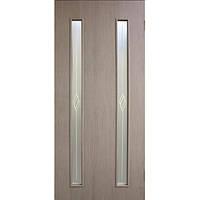 Дверь межкомнатная Омис Вероника 70 см сосна мадейра со стеклом