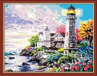 Картина по номерам Свет маяка КН192