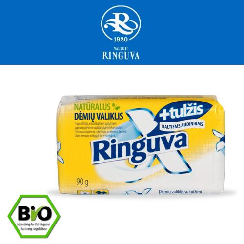 Мыло-пятновыводитель с желчью RINGUVA X, 150гр, Литва%