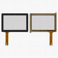 """Сенсорный экран для планшетов China-Tablet PC 10,1""""; Ainol Novo 10 Captain, 10,1"""", 174 мм, 255 мм, 70 pin, емкостный, черный, #A11120A10033_V04"""