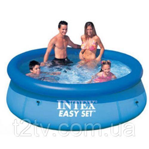 Надувной бассейн Easy Set Pool Intex 28110 244х76