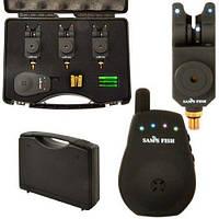Набор сигнализаторов поклевки с пейджером 3+1 SF23658