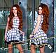 Шифоновое платье кр5804, фото 2