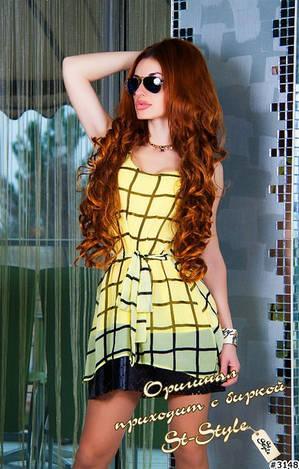 Шифоновое платье кр5804