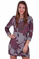Платье Alenka Plus молодежное Роза Синий