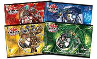 Альбом «Bakugan», 30 листов, на спирали