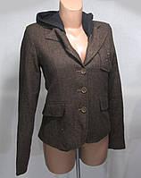 Стильный пиджак HB Und, S, с капюшоном, Как Новый!