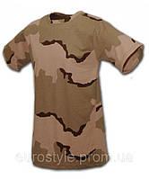 Камуфляжная футболка триколор