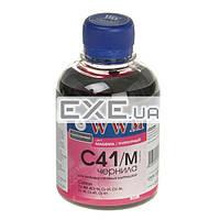 Чернила WWM CANON CL41/ 51/ CLI8/ BCI-16 Magenta (200г) C41m (C41M)
