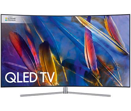 Телевизор Samsung QE75Q7F (PQI 3100Гц, UltraHD 4K, Smart, Auto Depth Enhancer, Supreme UHD Dimming, QHDR 1500), фото 2