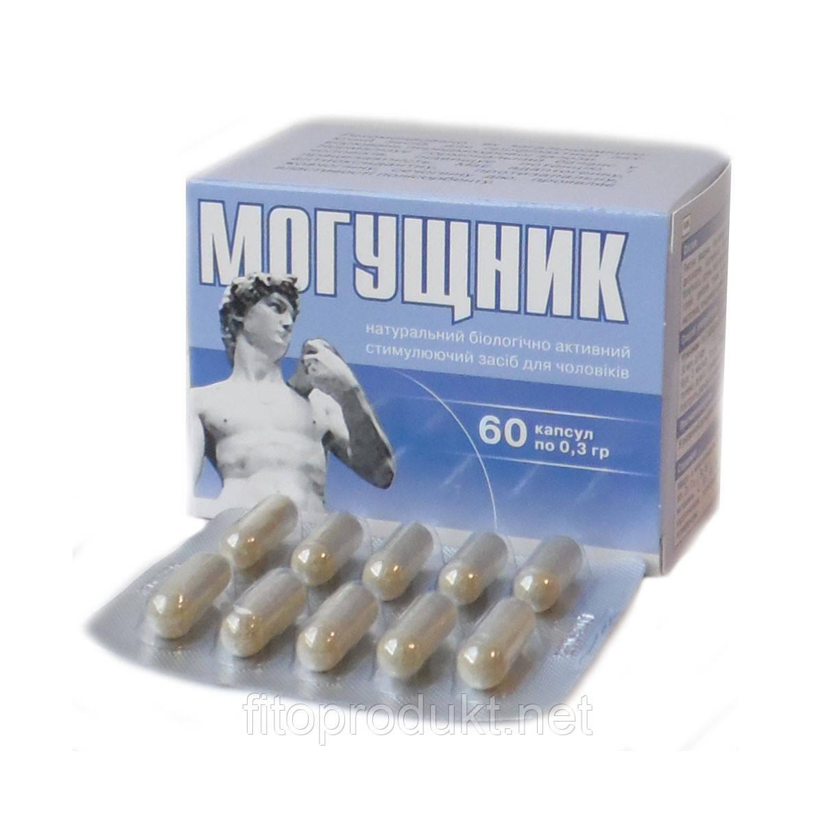 БАД Могущник стимулирующее средство для мужчин, 60 капсул