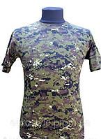 Камуфляжная футболка зеленый марпат