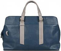 Функциональная дорожная сумка, кожаная на 22 л. Piquadro WASSILY/Blue, BV3340WA_AV синий
