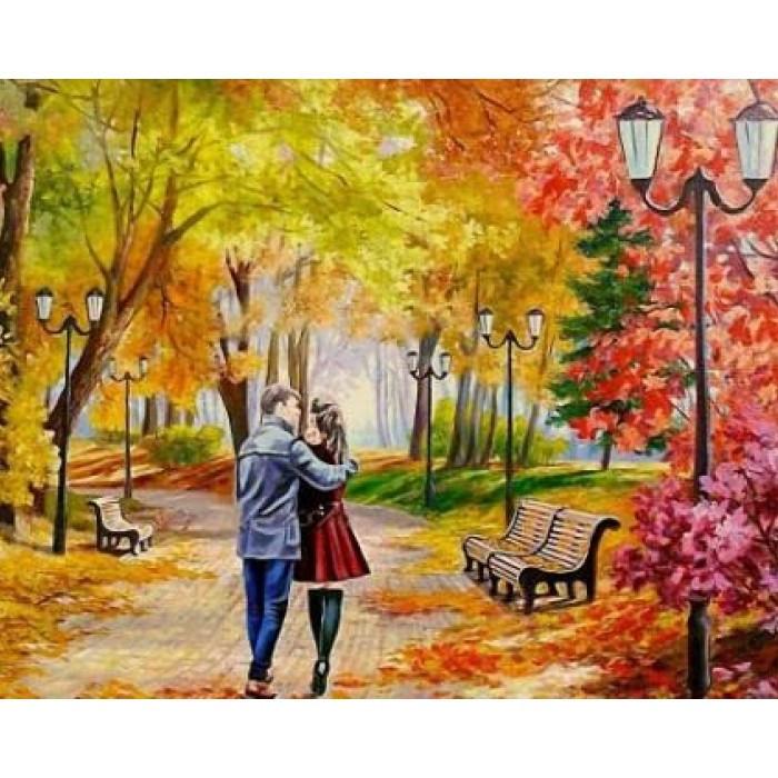 Картина по номерам Романтика КН2621