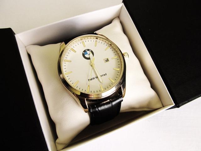 Мужские  часы BMW золотой корпус