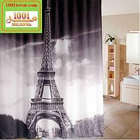 """Шторка для ванной комнаты """"Париж, Эйфелева башня"""", 180х180 см. (Paris)"""