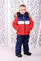 Зимняя куртка и комбинезон для мальчика
