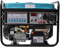 Генератор бензиновый Könner & söhnen KS10000E-ATS 7,5 квт 230 в