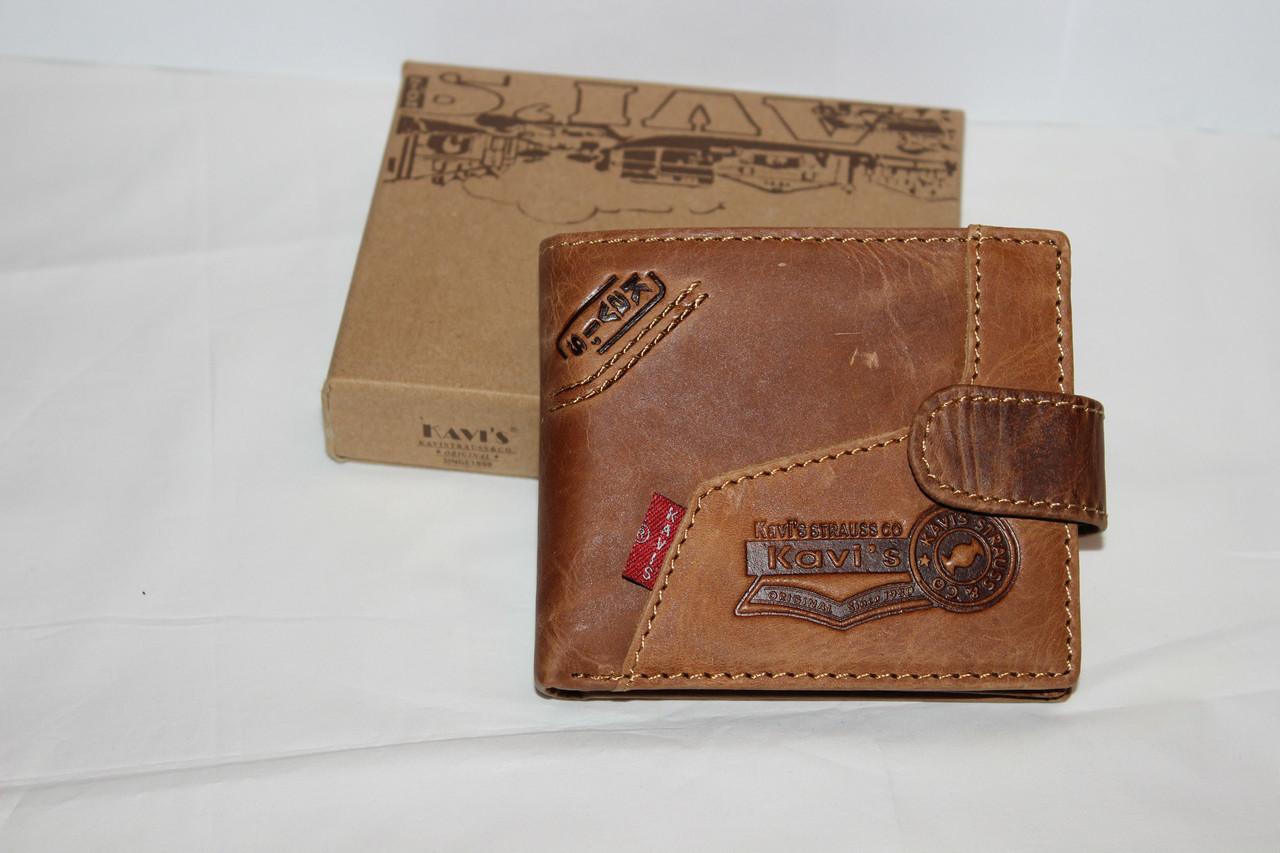 Кожаный кошелек Kavi's 5605
