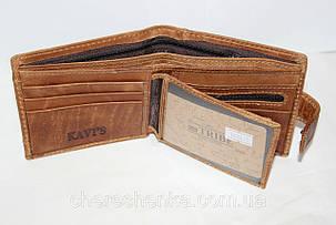 Кожаный кошелек Kavi's 5610, фото 2