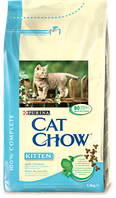 Cat Chow Kitten - корм для котят с курицей