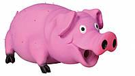 Игрушка Trixie Bristle Pig для собак латексная, свинья с пищалкой, 21 см, фото 1