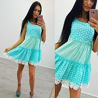 """Платье """"Стелла """" цена 540 грн размер с-м ткань лен+хлопок и дорогое кружево очень красивое"""