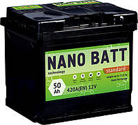 Аккумулятор NANO BATT Standart - 50 +левый 420 A