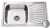 Кухонная мойка Constanta Satin, 780 х 480 мм, Бесплатная Доставка