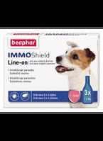 Beaphar IMMO Shield для собак малых пород от 1 до 15 кг - противопаразитарные капли с силиконов маслом (13354)