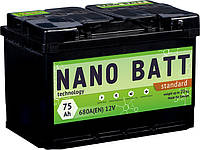 Аккумулятор NANO BATT Standart - 75 +правый 680 A