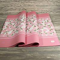 Гофрированная бумага для упаковки цветов и подарков 51*66 см (упаковка 25 листов)
