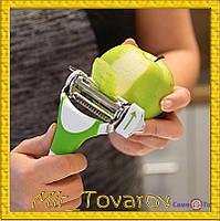 Трипл Слайсер для нарезки и чистки овощей 3 в 1