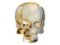 Камни Сваровски клеевые Череп 2856 Crystal Golden Shadow, фото 1