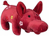 Игрушка Trixie Pig для собак плюшевая, свинка, 21 см