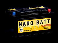 Аккумулятор NANO BATT  Econom  -100 +правый 800 A