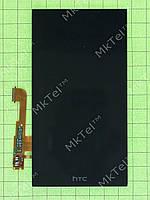 Дисплей HTC One M8 с сенсорным экраном Оригинал элем. Черный