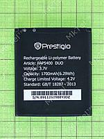 Аккумулятор Prestigio MultiPhone 5400 DUO 1700mAh Копия АА