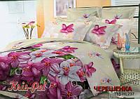 Двуспальный набор постельного белья 180*220 из Полиэстера №85237 KRISPOL™