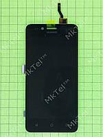 Дисплей Huawei Y3II (LUA-U22) с сенсором Оригинал элем. Черный