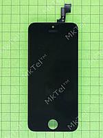 Дисплей iPhone 5S с сенсорным экраном Копия АА Черный