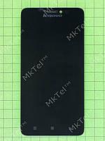 Дисплей Lenovo S850 с сенсором, панелью Оригинал Китай Черный