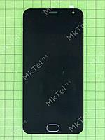 Дисплей Meizu M2 с сенсором, панелью Оригинал Китай Черный