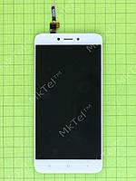 Дисплей Xiaomi Redmi 4X с сенсором Копия АА Белый